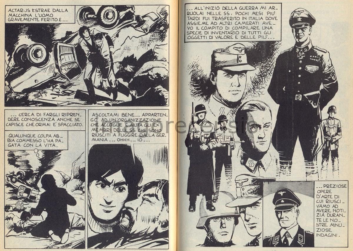 Elicottero Nazista : Imago recensio il fumetto quot actarus n° panico al