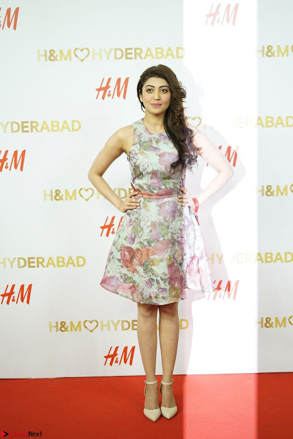 Pranitha Subash in lovely Flower Print Sleeveless Short dress ~  Exclusive 003.JPG