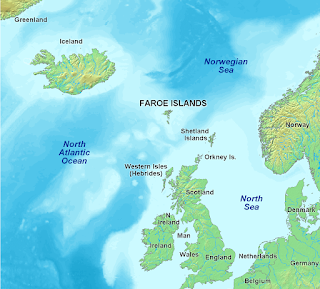 Disputed Islands Between Uk Ireland Iceland