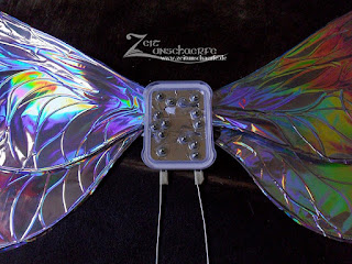 DIY Tutorial Fairy wings - Back plate | www.zeitunschaerfe.de