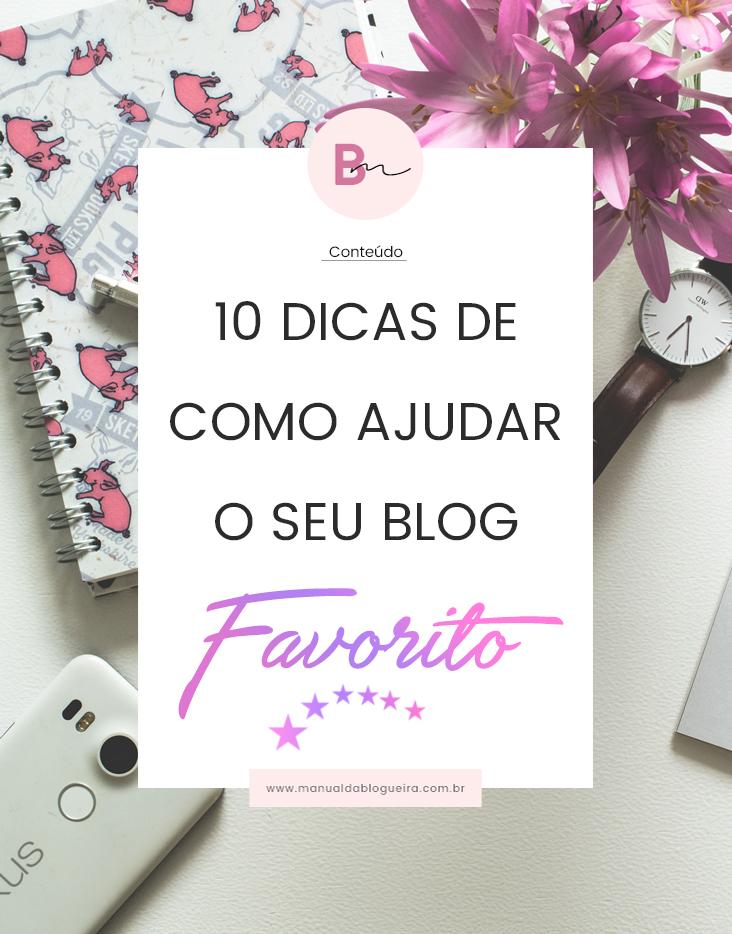 como ajudar o blog favorito