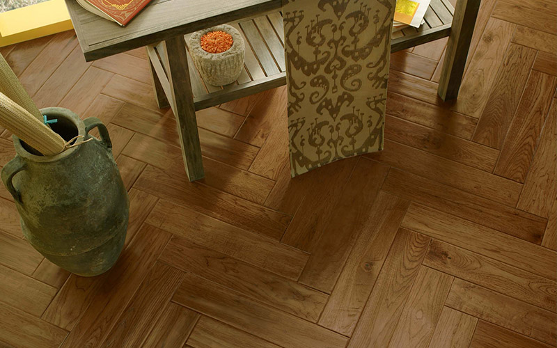 Wood-like floors are a great option for any room