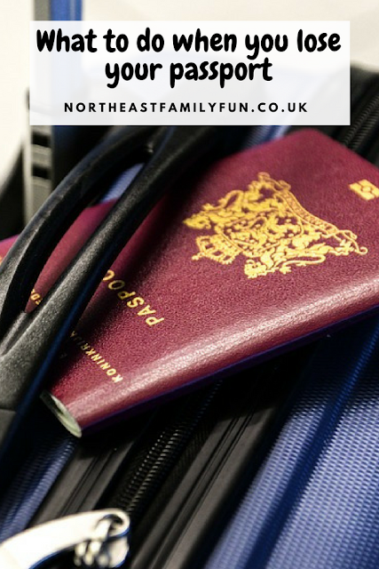 What happens at Durham Passport Office during a lost passport appointment