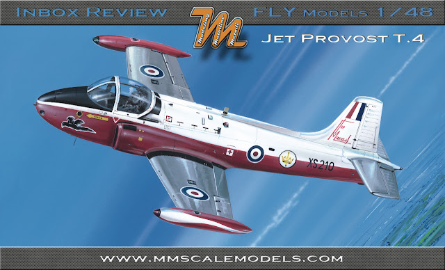 RAF BAC Jet Provost T.4 FLY 48019 1/48 inbox review