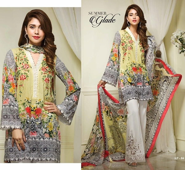 Anaya Luxury Lawn Eid Collection 2017/2018