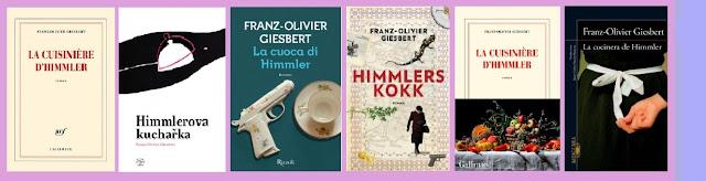 collage de portadas de La cocinera de Himmler
