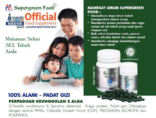 Apa Itu Supergreen Food (SGF)