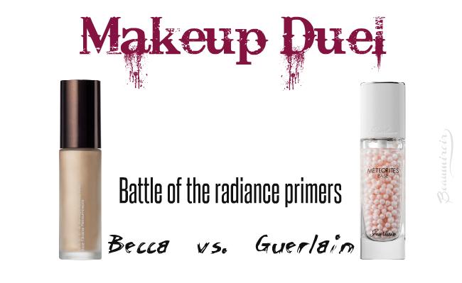 Makeup Duel - Radiance Primers: Becca Backlight vs Guerlain Meteorites!