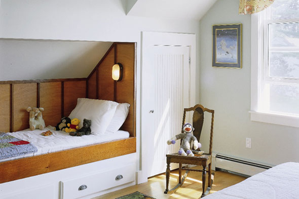 The Sagebrush Cottage Boys Room Built In Beds