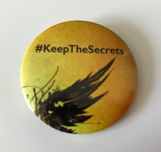 Harry Potter keep the secrets badge