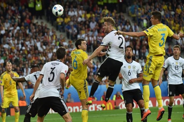 Alemania debuta con triunfo sobre Ucrania en la Euro 2016