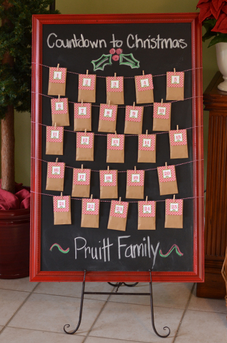 November Calendar Bulletin Board Ideas : Countdown to christmas printable advent calendar