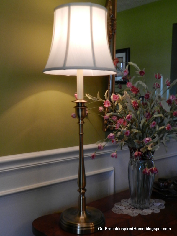 Our French Inspired Home: Ralph Lauren Lamps at HomeGoods