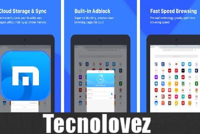Maxthon Browser Web Mobile  -  Browser leggero e sicuro per dispositivi android