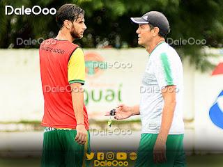 Yendrick Ruiz se puso a órdenes de Mauricio Soria y tuvo su primera práctica en Oriente Petrolero - DaleOoo