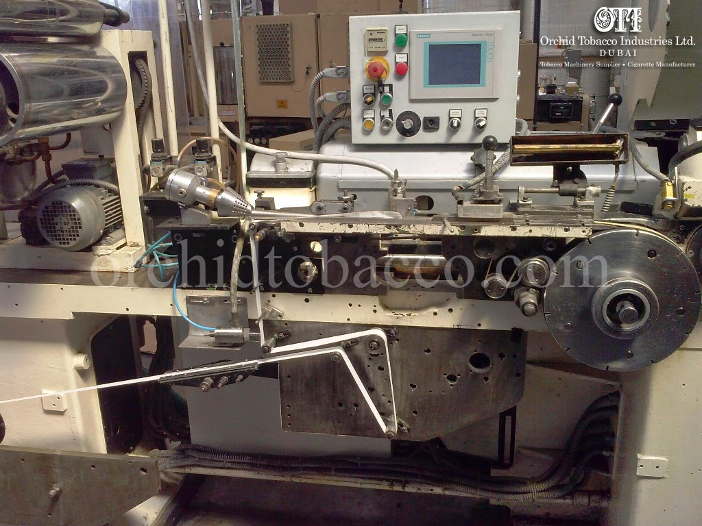 Cigarette's Filter Rod Making Machines