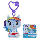 My Little Pony Keychain Plush Rainbow Dash Equestria Girls Cutie Mark Crew Figure