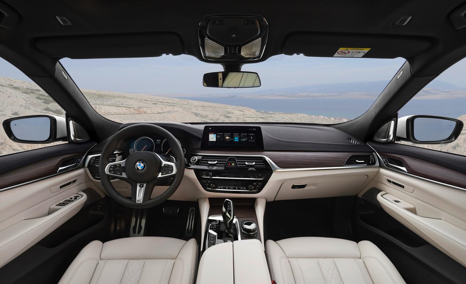 NỘI THẤT CỦA XE BMW 640I