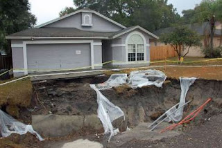 Sinkhole, House for Scale