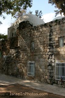 Het graf van Rabban Gamliel in Javne