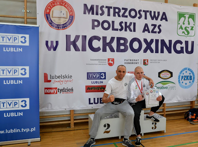 Adam Hirko, AZS, AWF,Lublin, PZKB, low kick, light contact, studenci, Uniwersytet Zielonogórski,kickboxing,Zielona Góra
