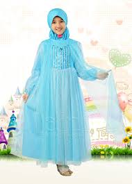 Model Baju Muslim Pesta Terbaru Anak Perempuan