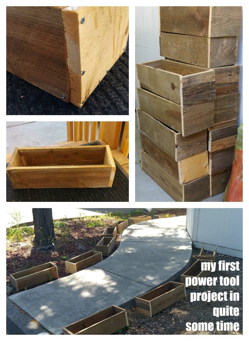 diy build planter boxes