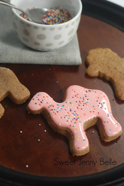 circus animal cookies tutorial