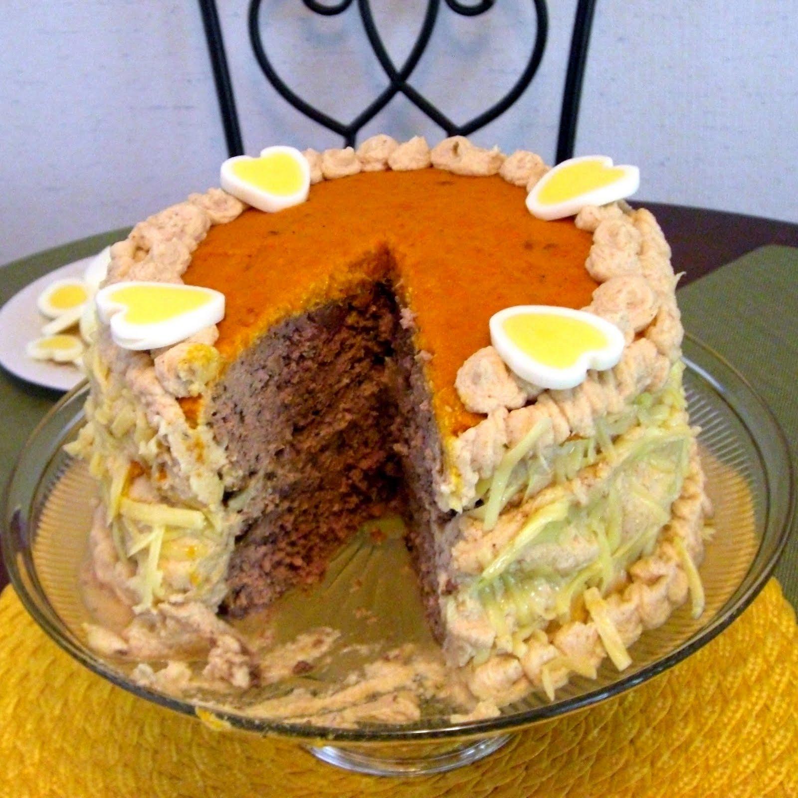 Domesticity Nouveau Meat Cake