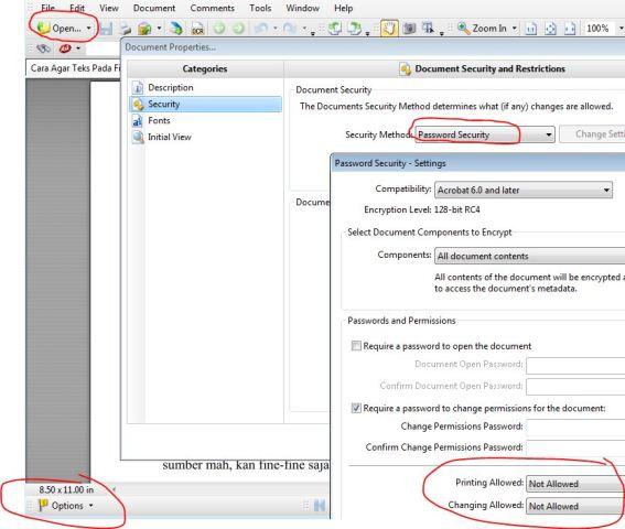 Cara Agar Teks Pada File PDF Tidak Bisa di Copy Paste