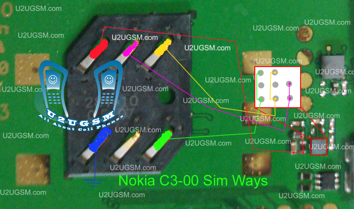 If your Mobile is water damage and show insert sim. change this sim ic if your device problem is not solve check this ic and sim connector line use