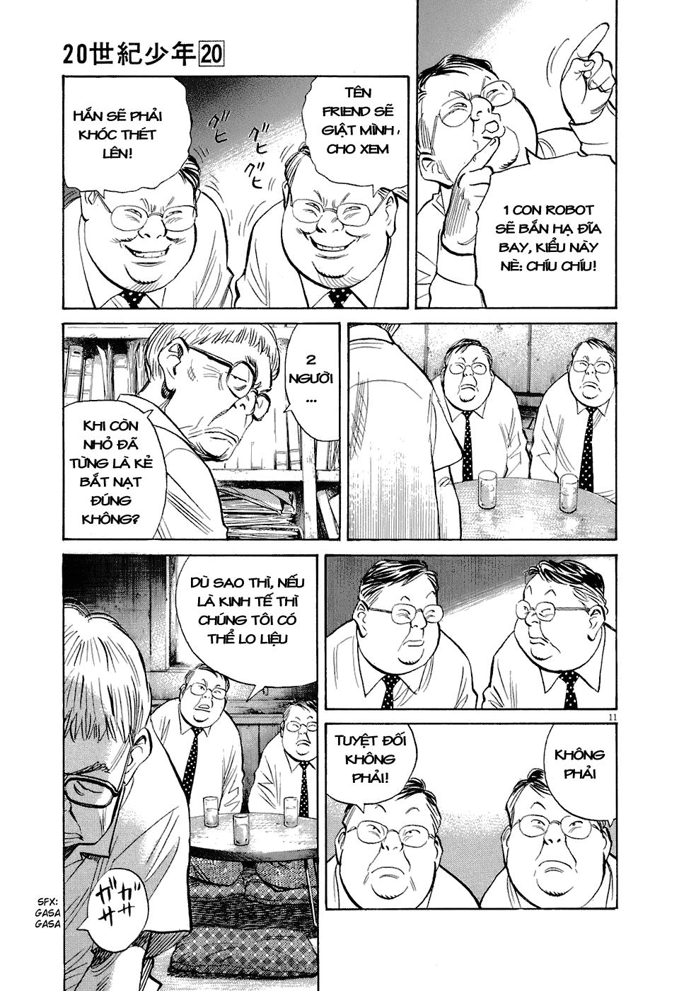 20th Century Boys chapter 224 trang 23