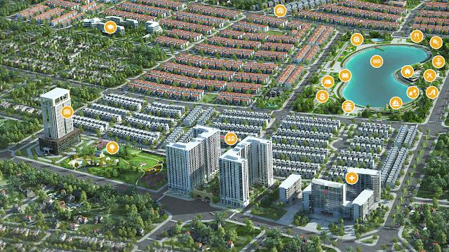 Quần thể khu đô thị Nam Cường - chung cư Anland Complex