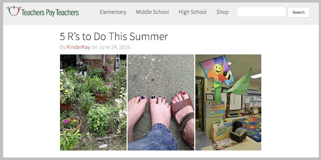 http://blog.teacherspayteachers.com/5-to-do-this-summer/