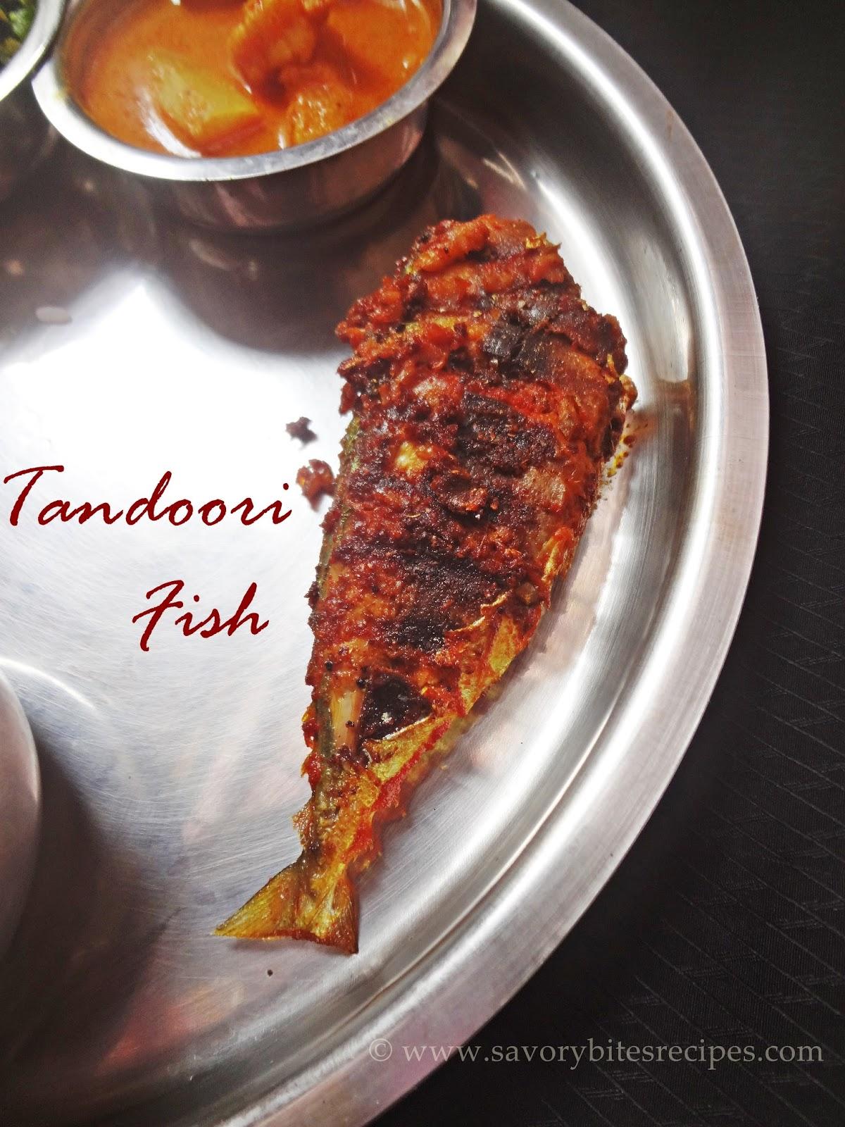 Mackerel Tandoori Fish Indian Seafood