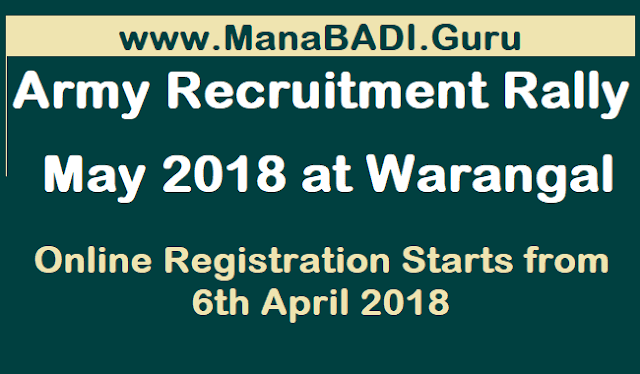 TS Jobs, TS Recruitment, Indian army, Indian Army Recruitment, Telangana Army Recruitment Rally, Warangal Rally, Warangal Army Rally Bharthi, joinindianarmy, www.joinindianarmy.nic.in