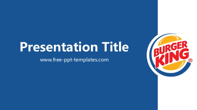 Free powerpoint templates burger king powerpoint template toneelgroepblik Image collections