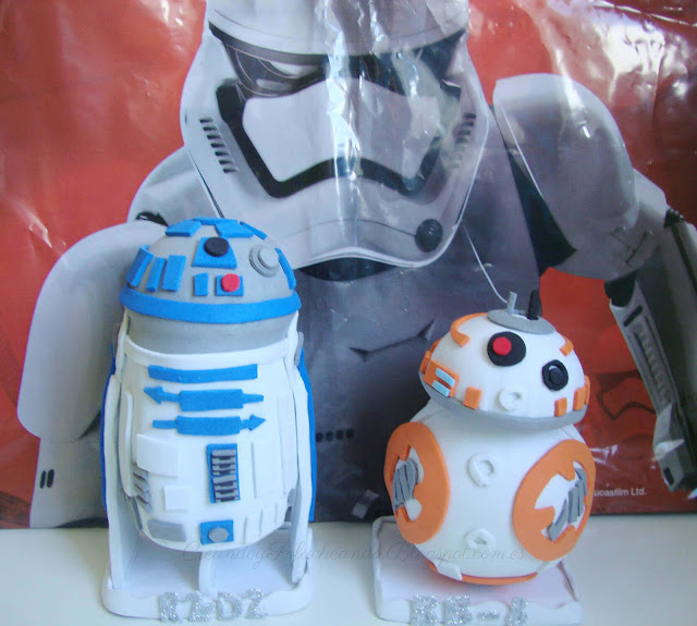 Fofuchos de Star Wars: R2-D2 y BB-8