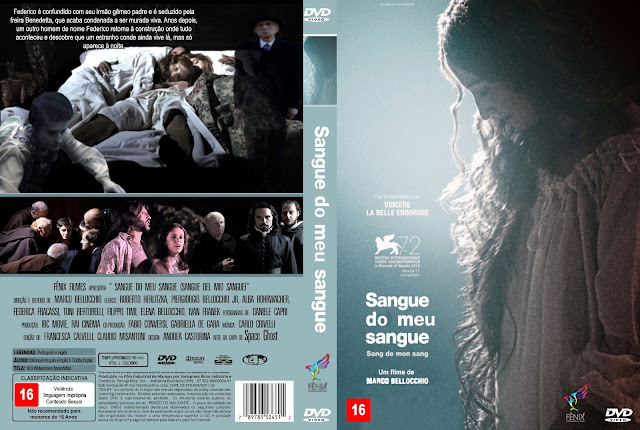 Capa DVD Sangue Do Meu Sangue