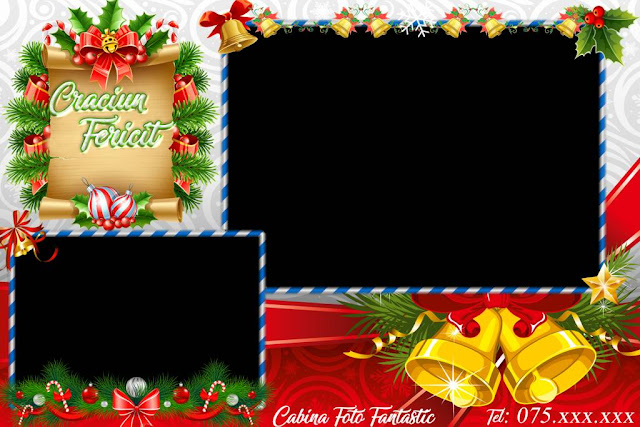 Free Dsrlbooth template for Christmas (2 poses)
