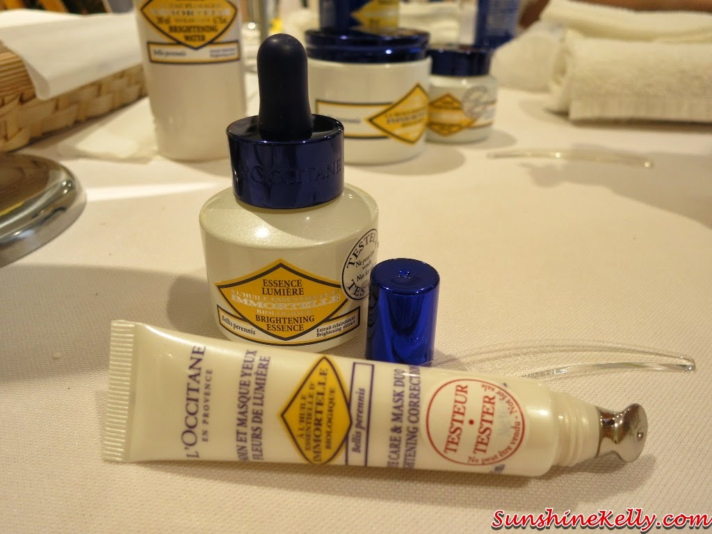 L'Occitane, L'Occitane Immortelle Brightening, L'Occitane Immortelle Brightening Eye Care & Mask Duo Brightening Correction, L'Occitane Immortelle Brightening Eye Care &  Mask Duo Brightening Correction, L'Occitane Immortelle Brightening 2014 New Products Review, L'Occitane Immortelle Brightening Essence, new formulation, skincare, beauty review, face essence, eye serum, concealer, corrector