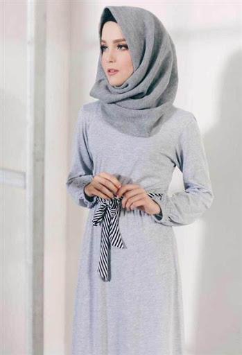 contoh model hijab simple untuk sehari hari terbaru 2017/2018