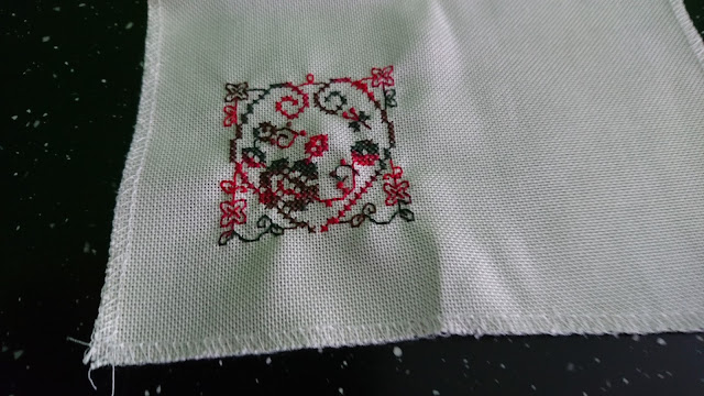 One way of making a Cross Stitch Pincushion