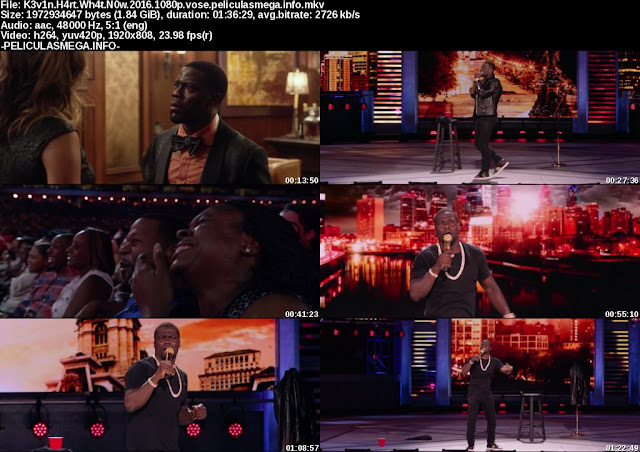 Descargar Kevin Hart: What Now? Subtitulado por MEGA.