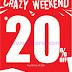 PROMO BATA Terbaru Crazy Weekend Periode 11 - 13 Agustus 2017