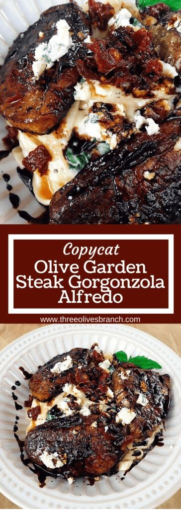Copycat Steak Gorgonzola Alfredo