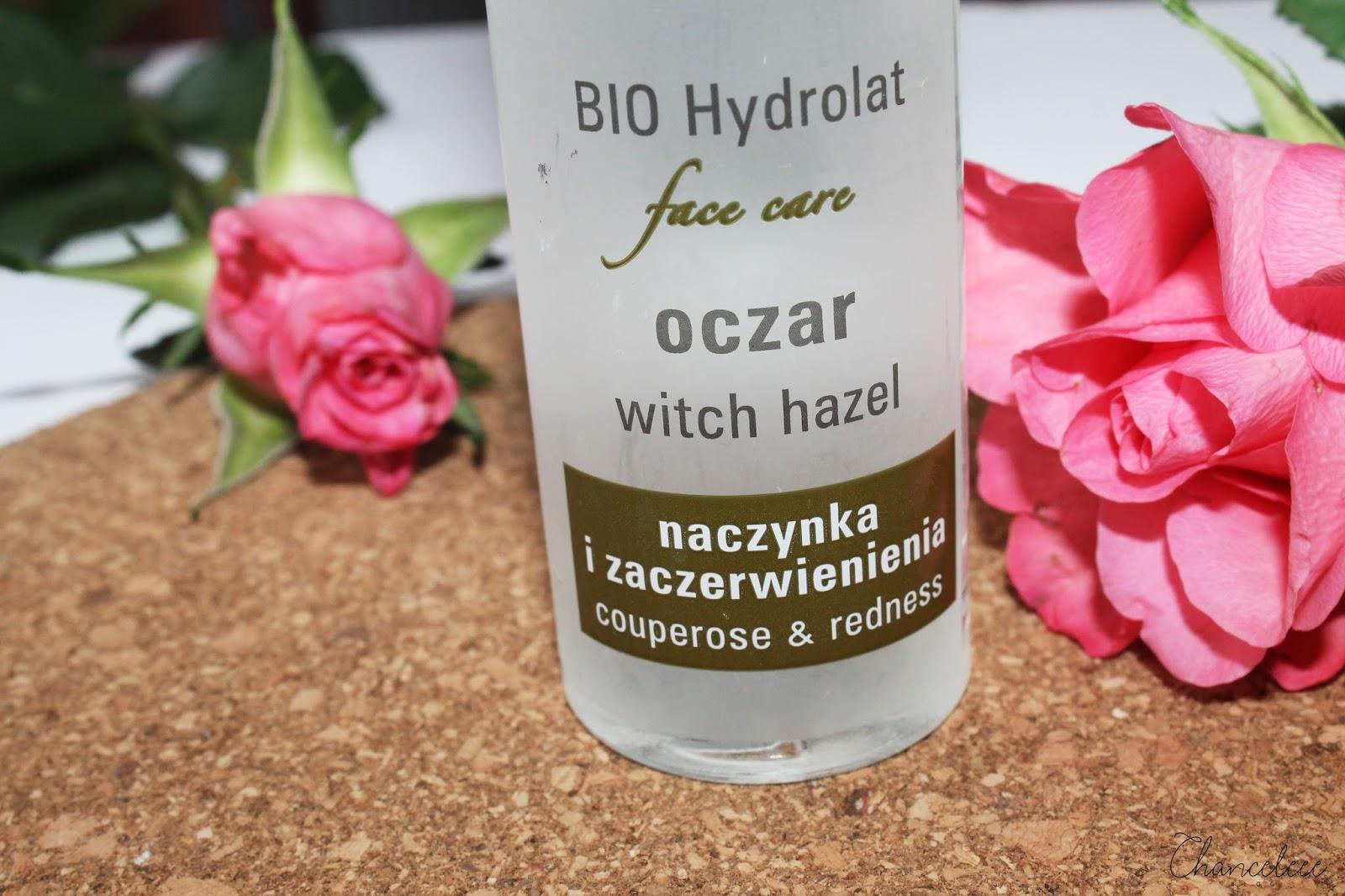 Bioline bio hydrolat oczarowy na naczynka i zaczerwienienia