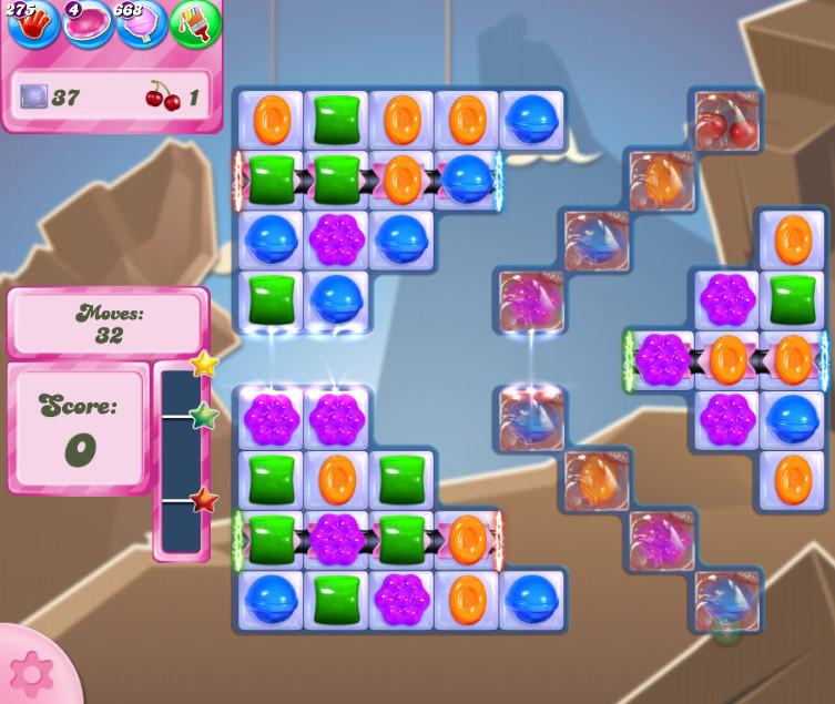 Candy Crush Saga level 2712
