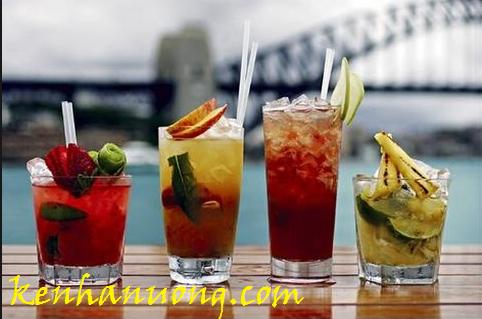 Nguyên tắc pha chế món rượu cocktail trái cây đầy ấn tượng