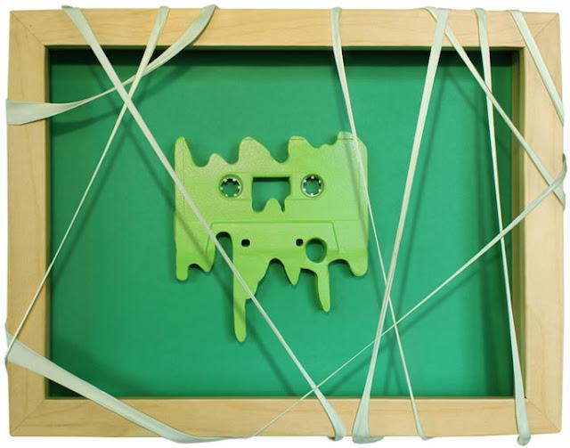 Creativas formas para la utilización de cassete como arte